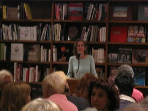 Mary Roach at Books and Books, April 23, 2008