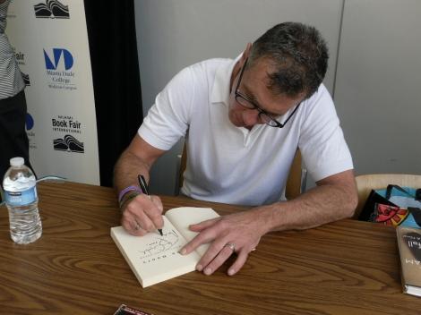 Cunningham signing @ Miami Book Fair